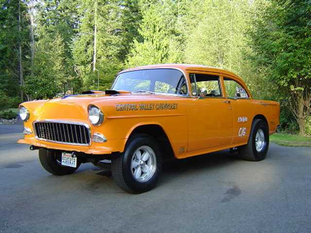 1955 Chevy Old School Gasser, , 1955 Chevy Gassers for Sale